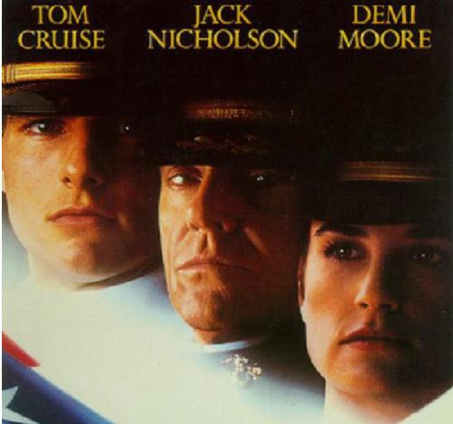 영화 어퓨굿맨, 해병대 소수정예 자존심은 오만으로 왜곡돼… 톰 크루즈, 데미 무어, 잭 니콜슨 호화 배역 자랑