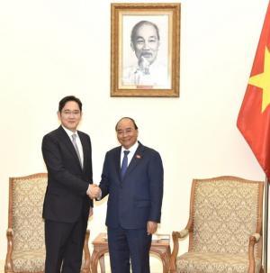 이재용 부회장, 베트남 총리와 면담…베트남 총리
